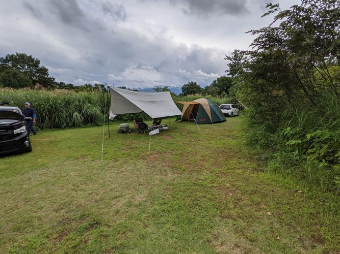 今回のテントサイト!