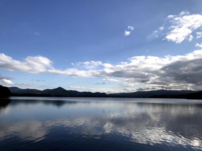 サイトから見た大沼(湖)