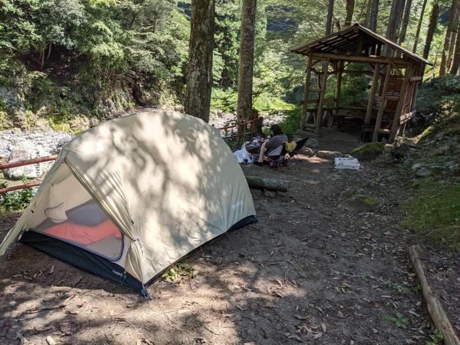 今回のテント設営